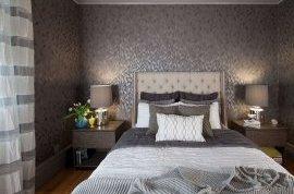 Бамбукові шпалери в дизайні спальні