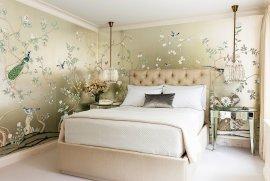 Вибір шпалер для спальні: дизайн, фото, варіанти комбінування